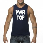 Addicted Tanktop PWR TOP AD452 C-09 granatowy
