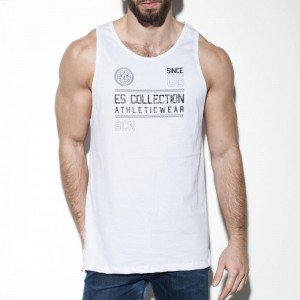 ES Collection TS219 Tank top Athleticwear C-01 biały