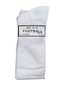Mister B Football Socks białe