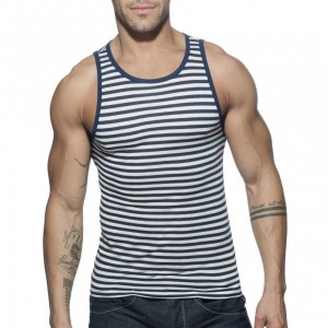 Addicted Marynarski Tank Top AD588 C-09 granatowy