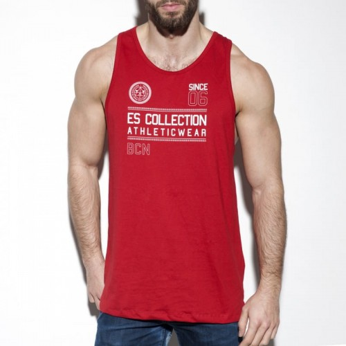 ES Collection TS219 Tank top Athleticwear C-06 czerwony